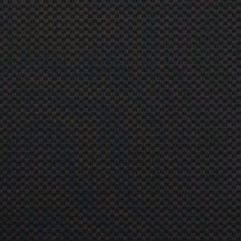 コットン&ポリウレタン×無地(ブラック)×かわり織ストレッチ