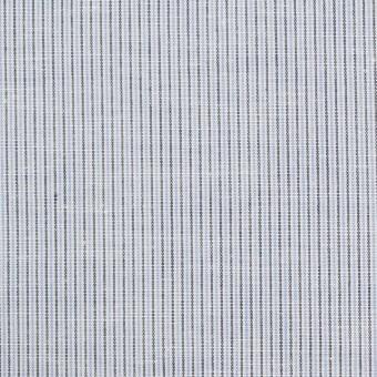 コットン&リネン×ストライプ(サックス)×ローン_全2色 サムネイル1