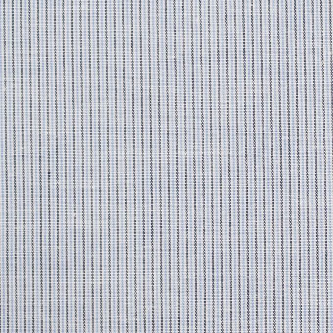 コットン&リネン×ストライプ(サックス)×ローン_全2色 イメージ1