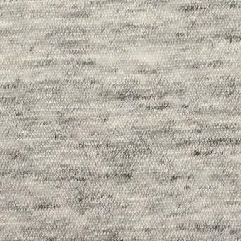 リネン×無地(ライトグレー)×天竺ニット_全2色 サムネイル1