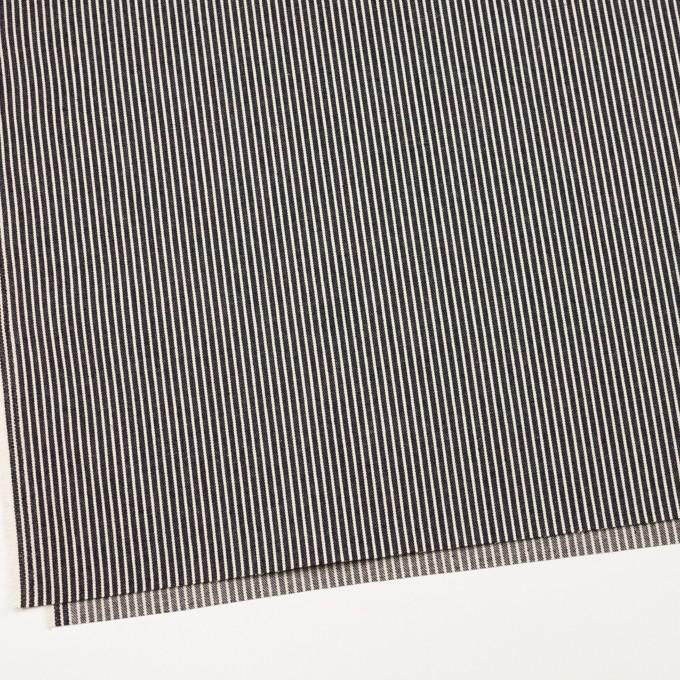 コットン×ストライプ(インディゴ&キナリ)×デニムヒッコリー イメージ2
