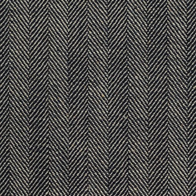 コットン×ミックス(インディゴ&キナリ)×ヘリンボーン イメージ1