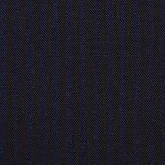 コットン×ストライプ(インディゴブルー&インディゴ)×チノクロス