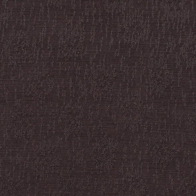 リネン&シルク×幾何学模様(ココア)×ジャガード_全2色_イタリア製 イメージ1