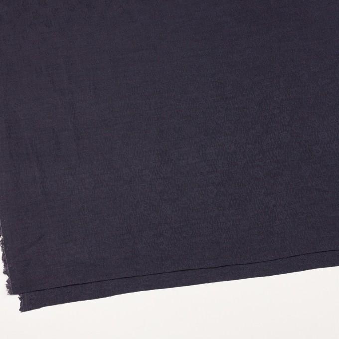リネン&シルク×幾何学模様(グレープ)×ジャガード_全2色_イタリア製 イメージ2