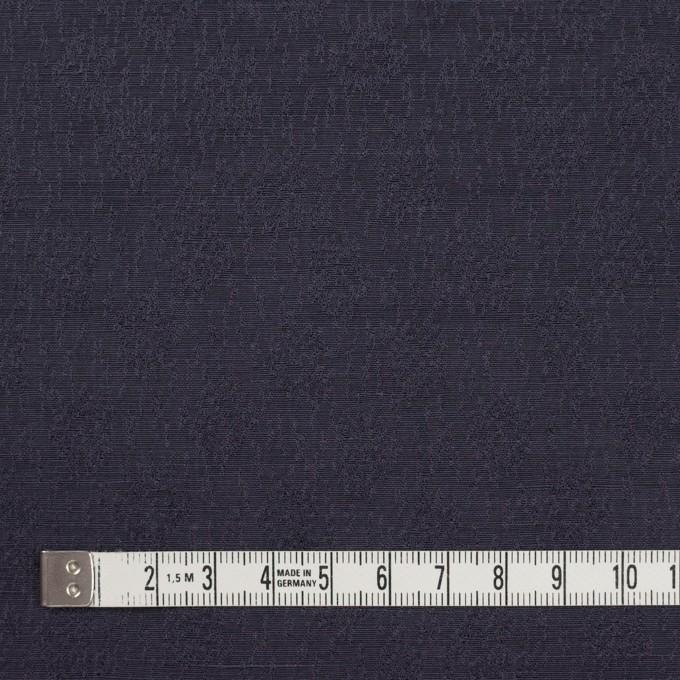 リネン&シルク×幾何学模様(グレープ)×ジャガード_全2色_イタリア製 イメージ4