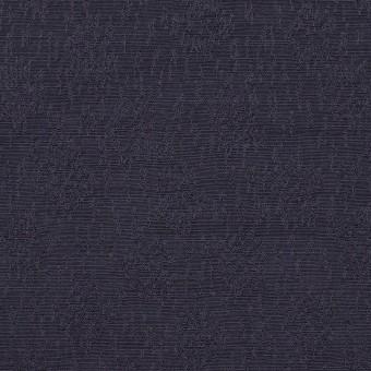 リネン&シルク×幾何学模様(グレープ)×ジャガード_全2色_イタリア製 サムネイル1
