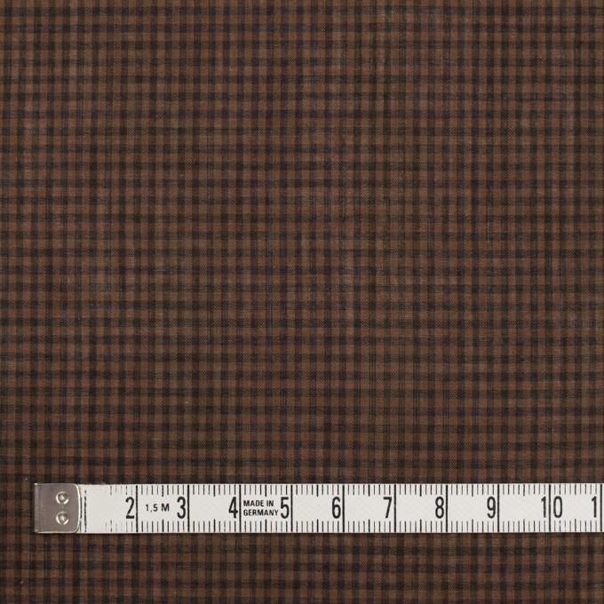 コットン×チェック(モカブラウン)×ボイル_全4色 イメージ4