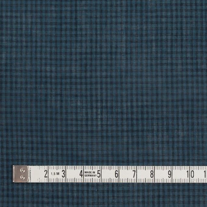 コットン×チェック(ブルーグレー)×ボイル_全4色 イメージ4