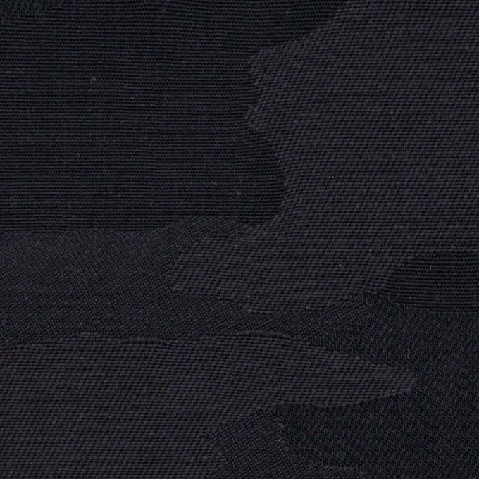 コットン×迷彩(チャコールブラック)×ジャガード イメージ1