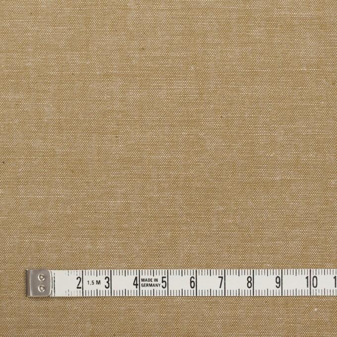 コットン×無地(カーキベージュ)×ダンガリー イメージ4