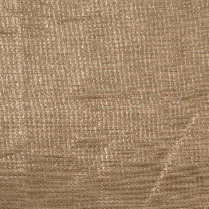 リネン&ポリエステル×無地(セピア)×オーガンジー_イタリア製 イメージ1