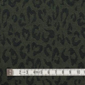 コットン×レオパード(モスグリーン)×ジャガード_全4色 サムネイル4