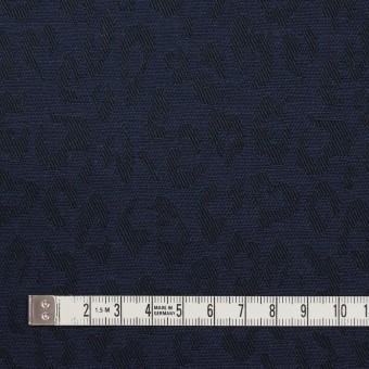 コットン×レオパード(ネイビー)×ジャガード_全4色 サムネイル4