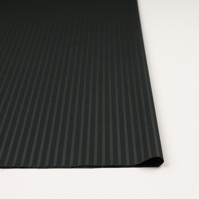 コットン×ストライプ(モスグリーン&ブラック)×ブロードジャガード_全2色 イメージ3