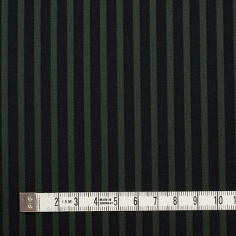 コットン×ストライプ(モスグリーン&ブラック)×ブロードジャガード_全2色 サムネイル4
