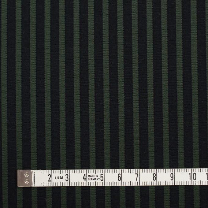 コットン×ストライプ(モスグリーン&ブラック)×ブロードジャガード_全2色 イメージ4