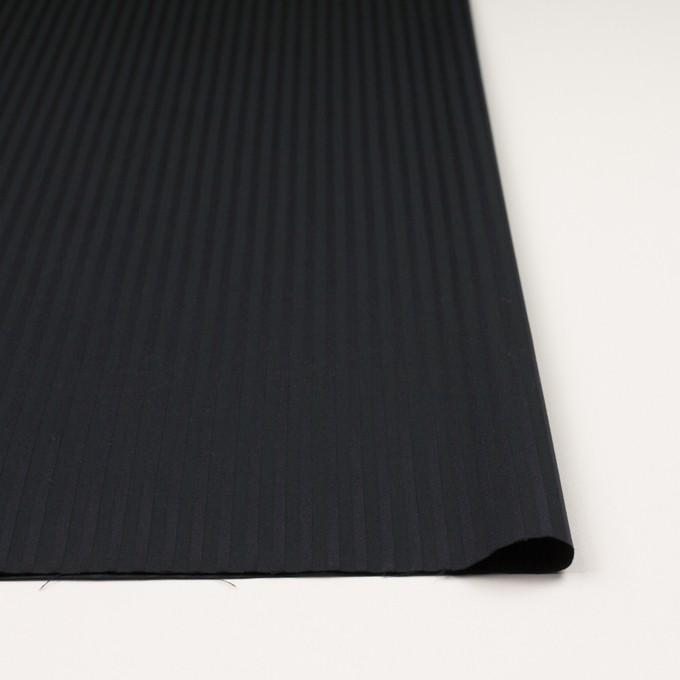 コットン×ストライプ(チャコール&ブラック)×ブロードジャガード_全2色 イメージ3