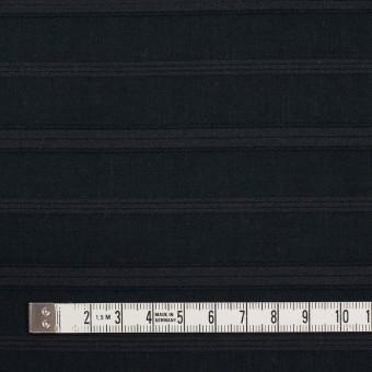 コットン×ボーダー(チャコールブラック)×ボイルジャガード サムネイル4