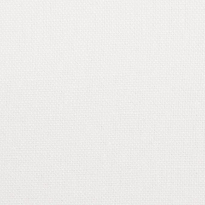 リネン×無地(オフホワイト)×オックスフォード_全4色 イメージ1