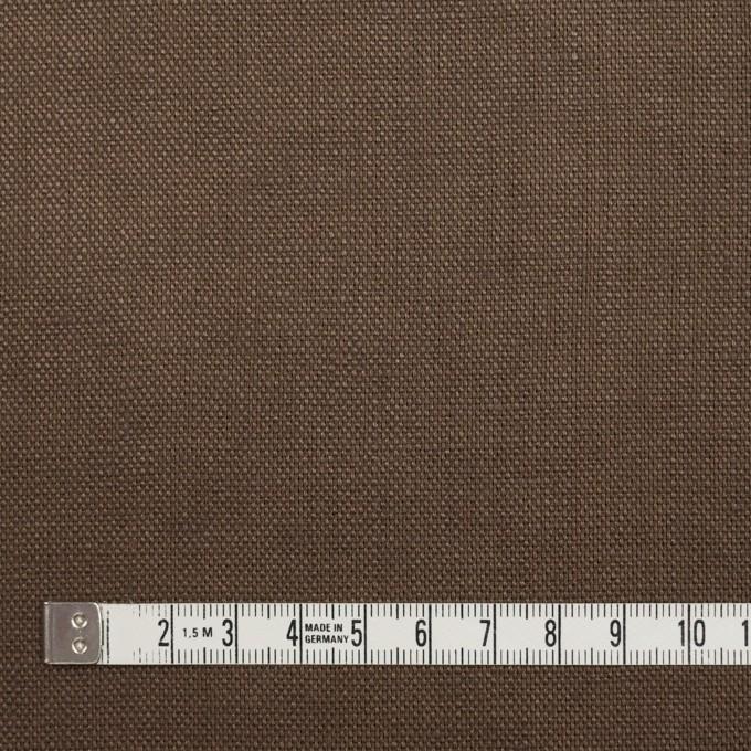リネン×無地(モカブラウン)×オックスフォード_全4色 イメージ4
