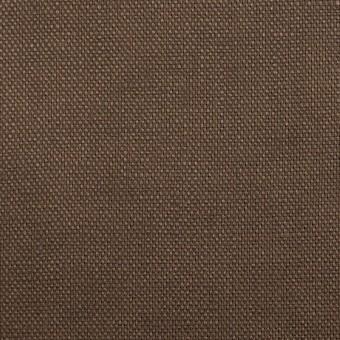 リネン×無地(モカブラウン)×オックスフォード_全4色 サムネイル1