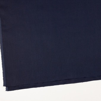リネン×無地(ネイビー)×オックスフォード_全4色 サムネイル2