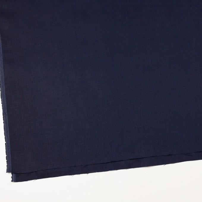 リネン×無地(ネイビー)×オックスフォード_全4色 イメージ2