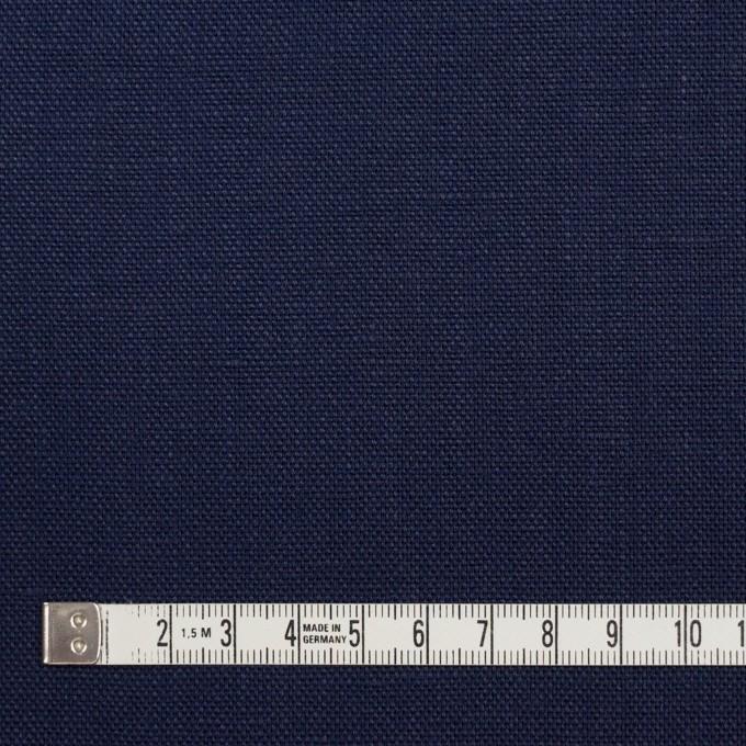 リネン×無地(ネイビー)×オックスフォード_全4色 イメージ4