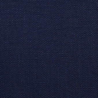 リネン×無地(ネイビー)×オックスフォード_全4色