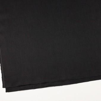 リネン×無地(ブラック)×オックスフォード_全4色 サムネイル2