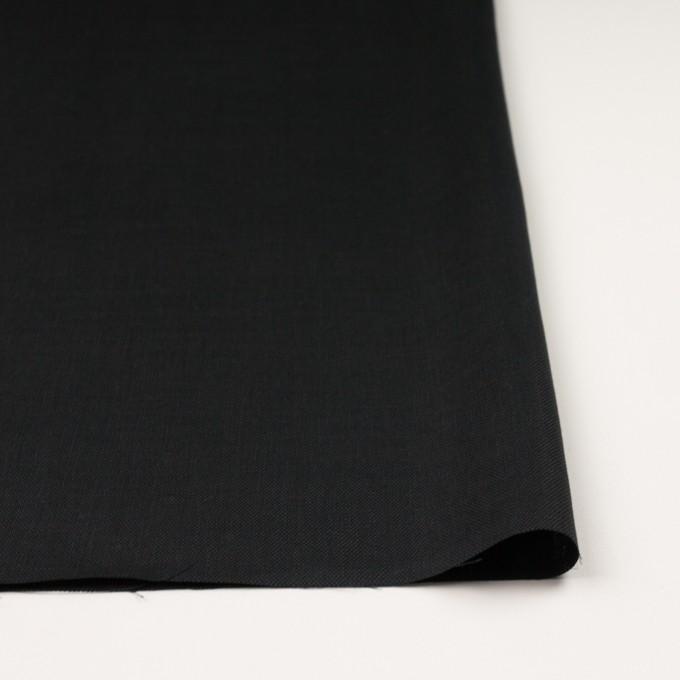 リネン×無地(ブラック)×オックスフォード_全4色 イメージ3