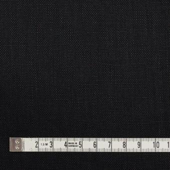リネン×無地(ブラック)×オックスフォード_全4色 サムネイル4