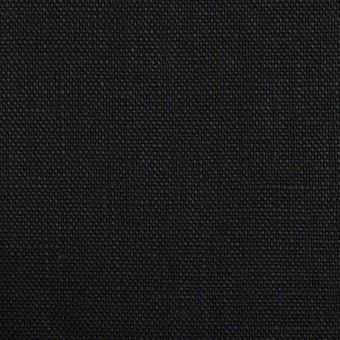 リネン×無地(ブラック)×オックスフォード_全4色