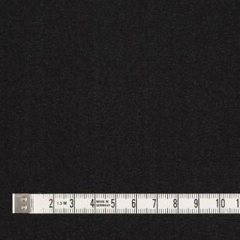 シルク×無地(ブラック)×ジョーゼット_イタリア製 サムネイル4