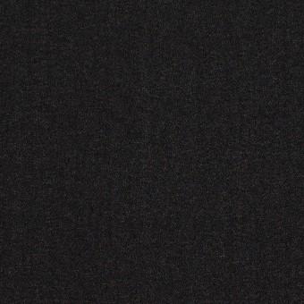 シルク×無地(ブラック)×ジョーゼット_イタリア製
