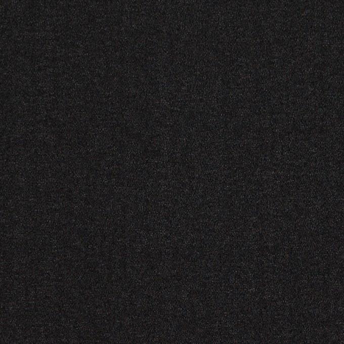シルク×無地(ブラック)×ジョーゼット_イタリア製 イメージ1