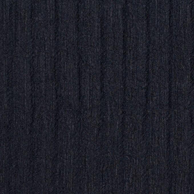 シルク×無地(ダークネイビー)×Wジョーゼット_全2色 イメージ1