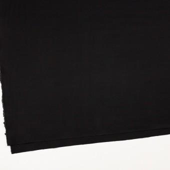 レーヨン&ウール×無地(ブラック)×サージ サムネイル2
