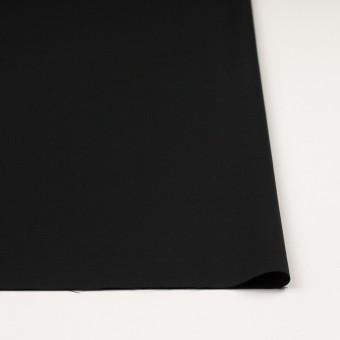レーヨン&ウール×無地(ブラック)×サージ サムネイル3