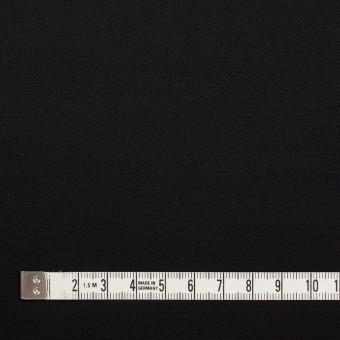 レーヨン&ウール×無地(ブラック)×サージ サムネイル4