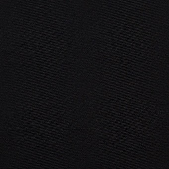 レーヨン&ウール×無地(ブラック)×サージ