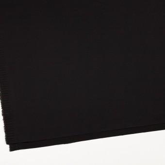 レーヨン&ウール×無地(ブラック)×サテン サムネイル2
