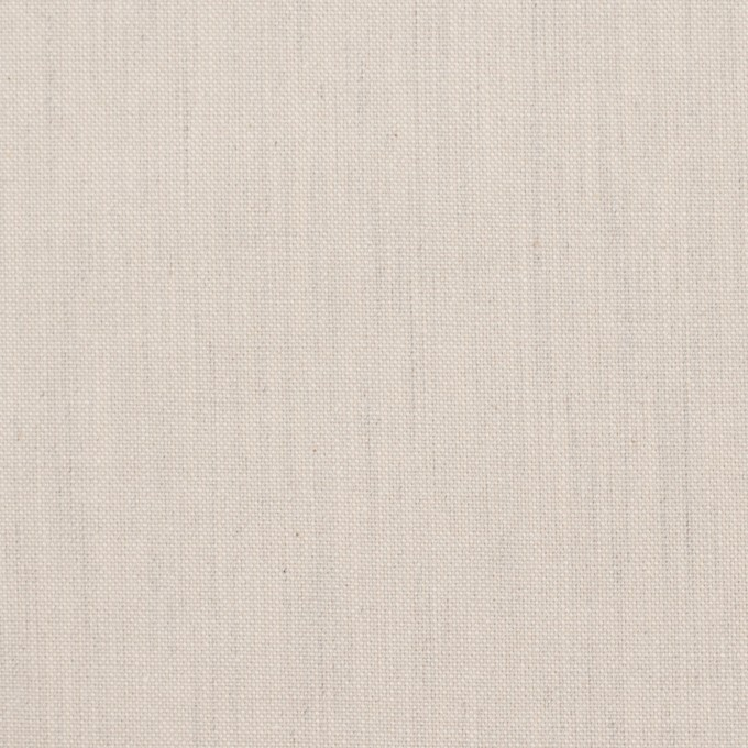 コットン×無地(アイボリー)×かわり織_全2色 イメージ1
