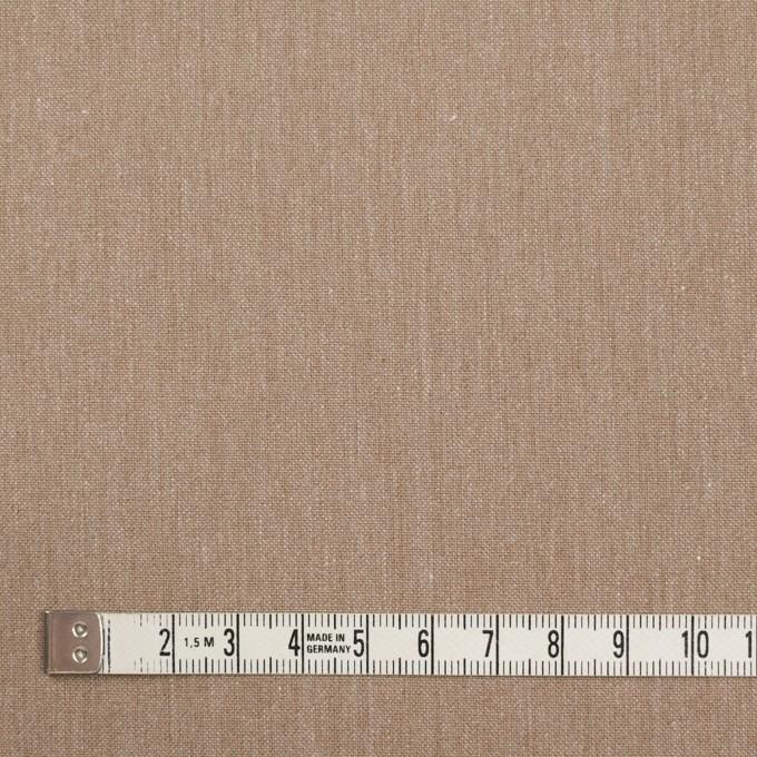 コットン×無地(セピア)×かわり織_全2色 イメージ4