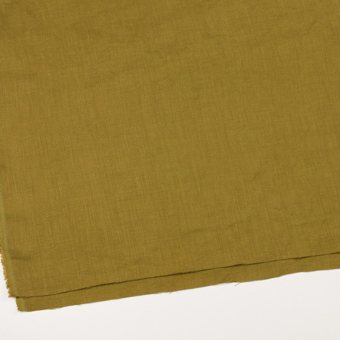 リネン×無地(アンティークゴールド)×かわり織 イメージ2