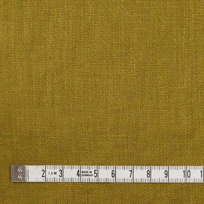 リネン×無地(アンティークゴールド)×かわり織 イメージ4