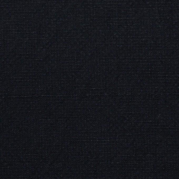 コットン&リネン×無地(ダークネイビー)×キャンバスワッシャー イメージ1