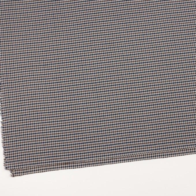 ナイロン&ポリウレタン×チェック(スレートグレー)×ビエラストレッチ イメージ2