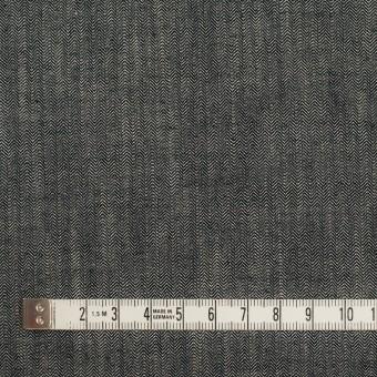 コットン×ミックス(アイボリー&ブラック)×ヘリンボーン サムネイル4